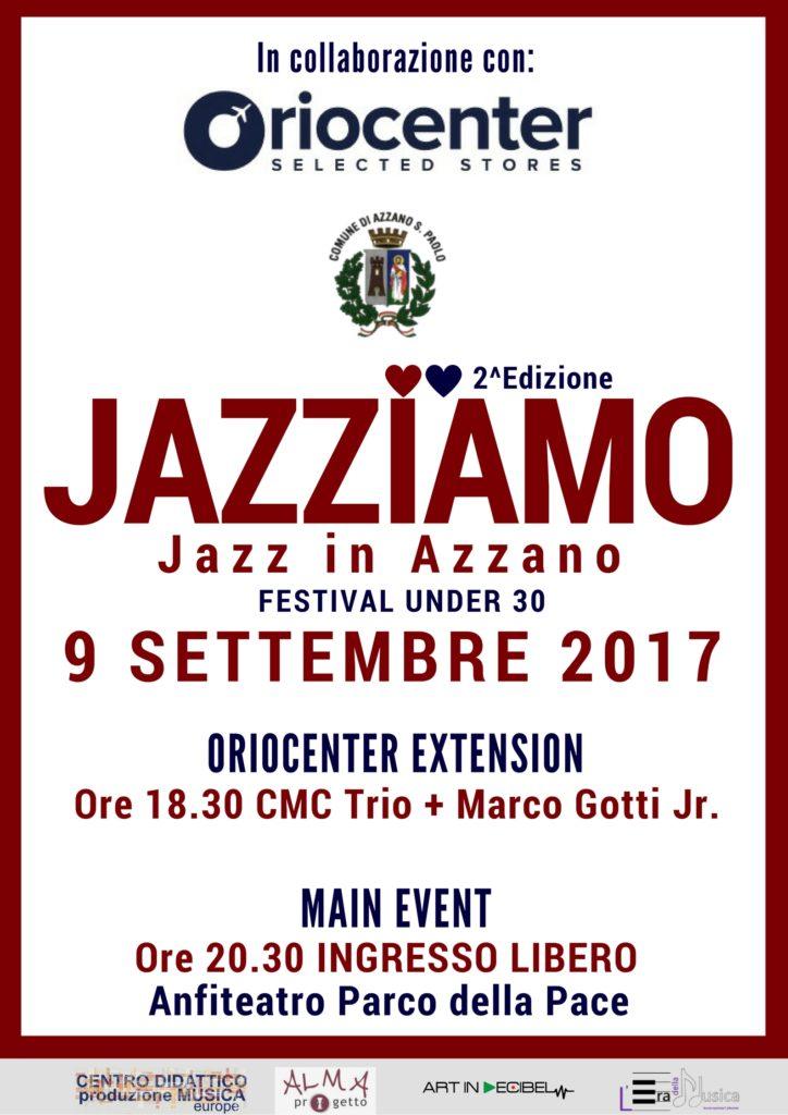 Jazziamo. Jazz under 30 - Jazz in Azzano. 2a edizione
